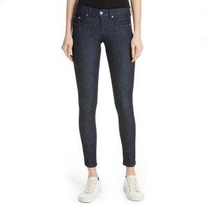 RAG & BONE Mid Rise Dark Wash Skinny Jeans!